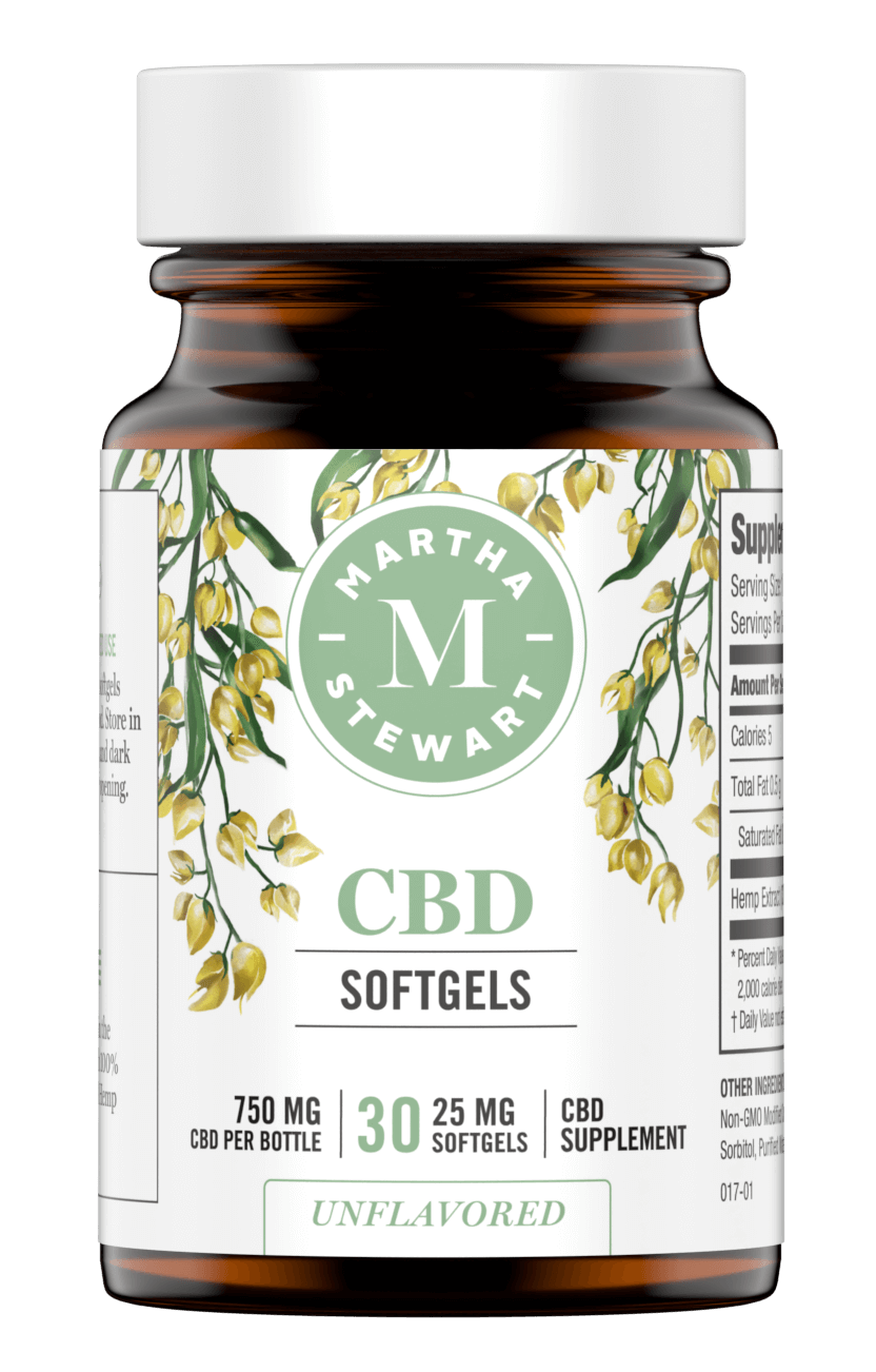 Martha Stewart CBD softgels
