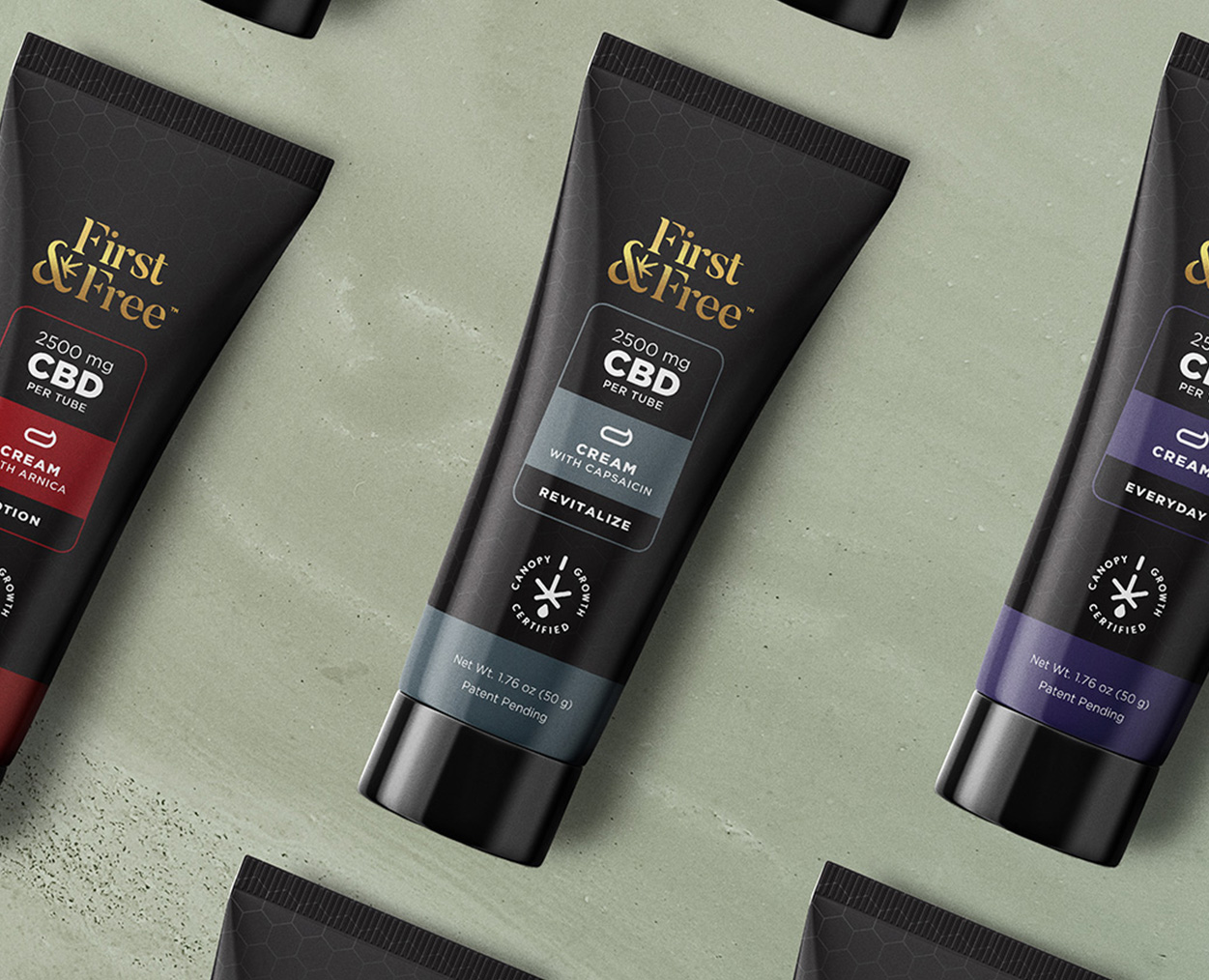 First & Free line of topical creams
