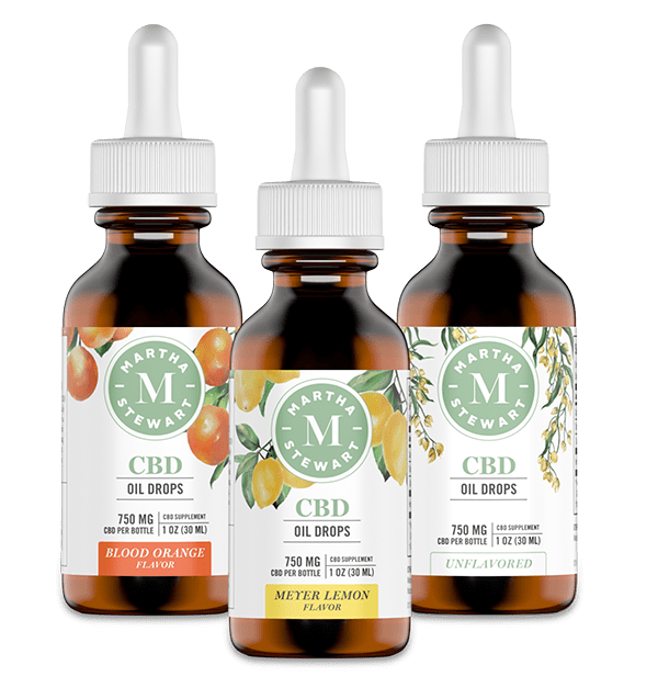 Martha Stewart CBD Oil Drops