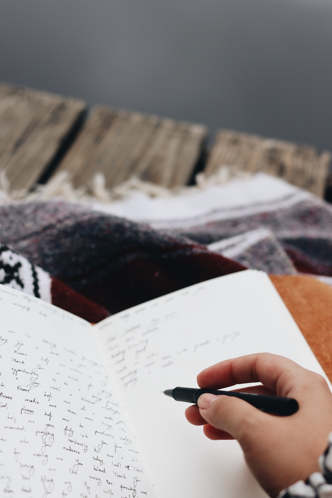 Journaling every day can help with our ability to digest stressful thoughts and worries.