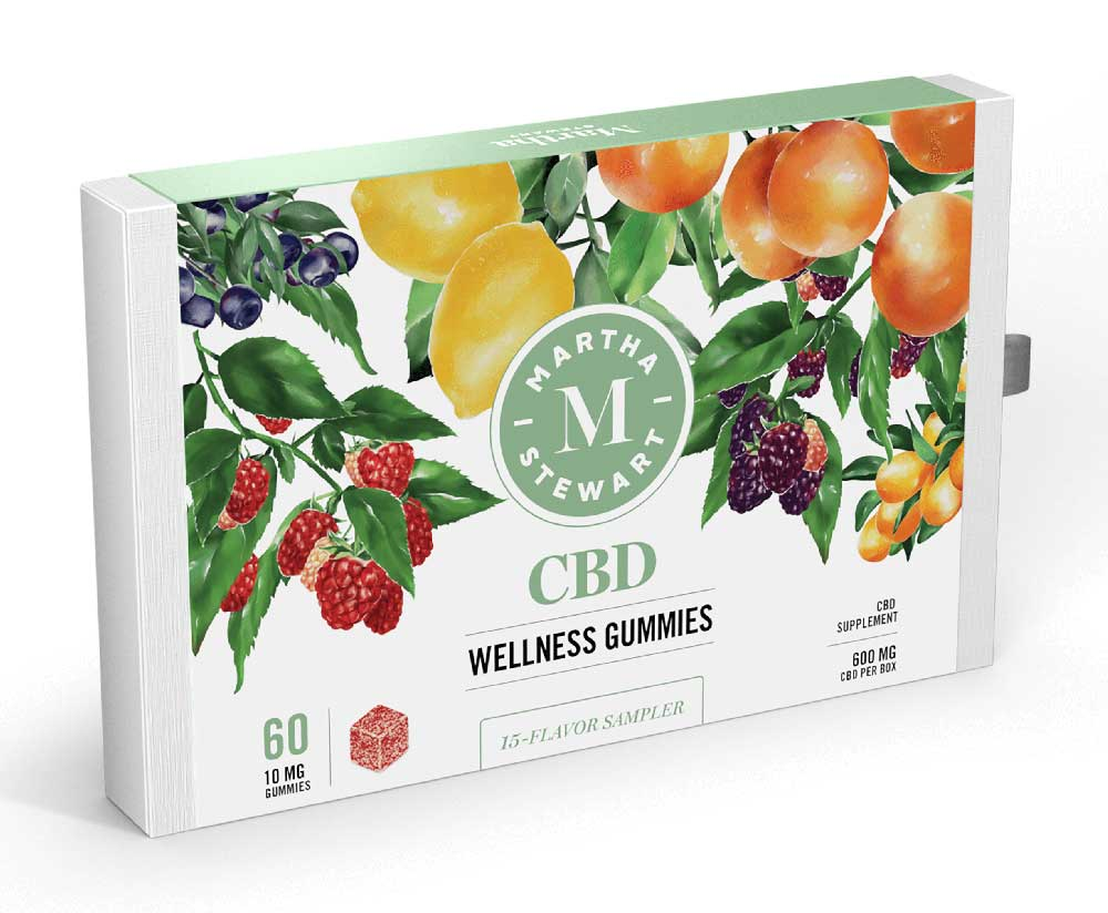 Martha Stewart CBD wellness gummies