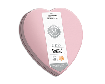 Martha Stewart CBD Valentine's Day giftbox
